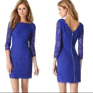 Diane von Furstenberg Zarita Lace Sheath Dress